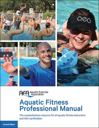 *Latest Edition* Seventh Edition AEA Aquatic Fitness Professional Manual AK0148-D