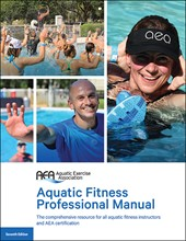*Latest Edition* Seventh Edition AEA Aquatic Fitness Professional Manual AK0148
