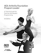 AEA Arthritis Foundation Program Leader Resource Manual 1st Edition AK0148S